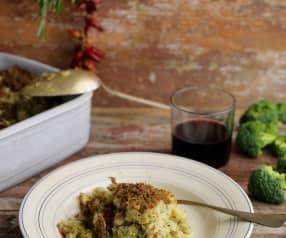 Baccalà al forno con broccoli
