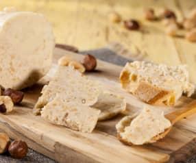 Máslo s lískovými oříšky