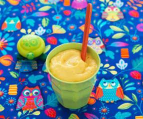 Purée de mangue au yaourt - à partir de 12 mois