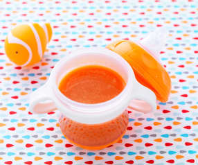Jus de carotte tout frais - à partir de 6 mois
