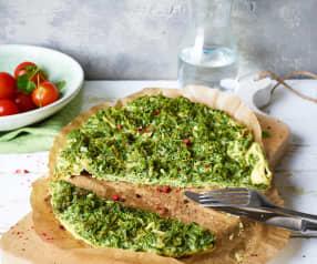 Grünkohl-Omelette