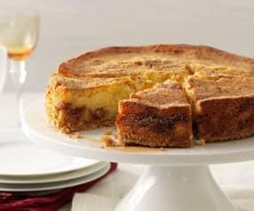 Cheesecake de ricotta con mermelada de higo