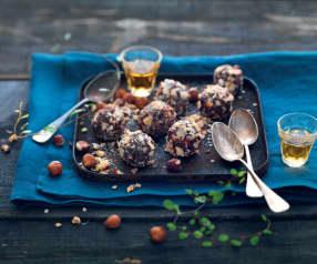 Truffes chocolat-noisette