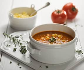 Minestrone s pancettou