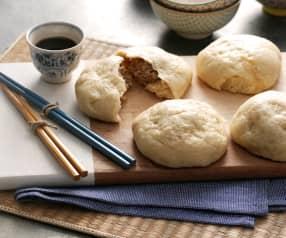 Panini ripieni di carne di maiale cotti al vapore (Nikuman)