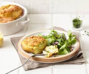 Pommes de terre farcies et gratinées à la moutarde