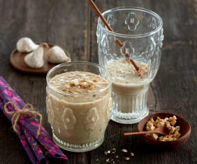 Smoothie figue-poire-sarrasin au lait d'amande