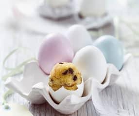 Dortíky pečené ve vaječné skořápce