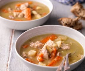 Chicken and Root Vegetable Stew