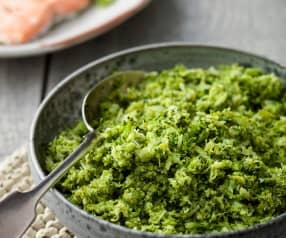 Steamed Broccoli Mash