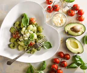 Gnocchi s avokádem