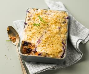 Lasagnes au tofu et au chou sans gluten