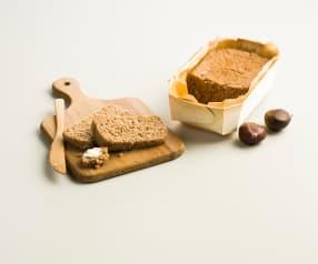 Pain sans gluten à la châtaigne