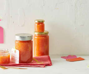 Rebarborovo meruňkový džem