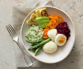 'Eat the rainbow' breakfast bowl