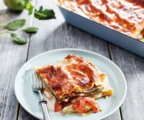 Kohlrabi-Spinat-Lasagne
