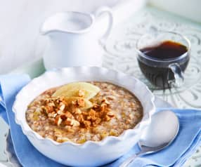 Apple and Pear Hot Cereal