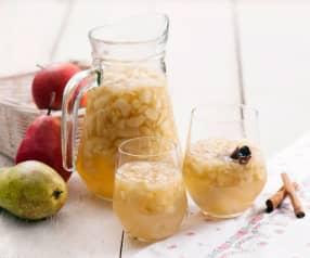 Kompot jabłkowo-gruszkowy