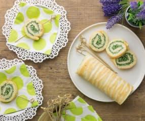 Girelle con spinaci e tofu (vegan)
