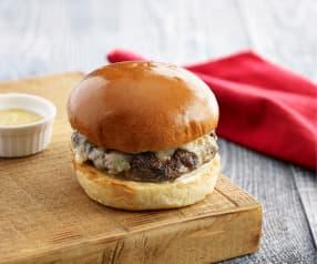Mushroom and Beef Burger