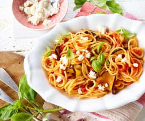 Špagety alla Norma