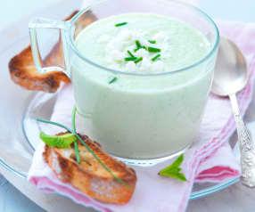 Gazpacho feta e cetrioli