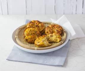 Gemüse-Eier-Küchlein