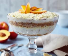 Nektarinen-Trifle