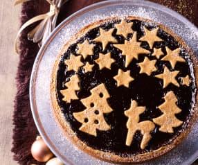 Weihnachtskuchen Linzer Art