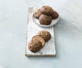 Buckwheat and almond slider buns