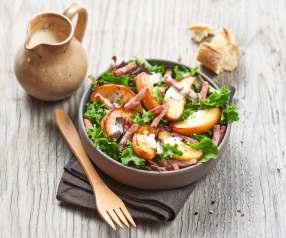Salat mit Speck und Apfel