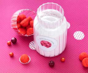 Zucchero alle caramelline alla fragola