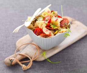 Salade de pâtes au chorizo