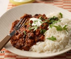 Speedy Bean and Chorizo Chilli