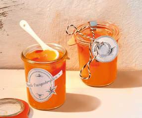 Pikante Orangenkonfitüre