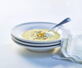 Pastinaken-Lauch-Suppe