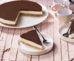 Cheesecake mascarpone e cioccolato