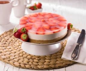 Cheesecake allo yogurt e fragole