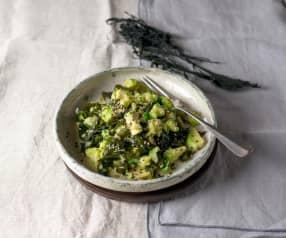 Sunomono - Japanischer Gurkensalat mit Seealgen