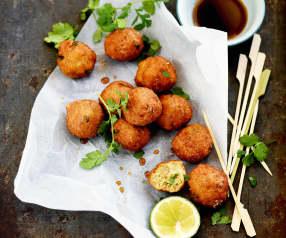 Croquettes de poisson à la thaïe