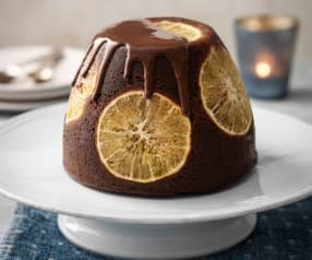 Chocolate Orange Steamed Pudding