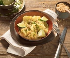 Limetten-Karfiol-Curry mit Bohnen