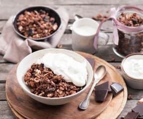 Granola czekoladowo-wiśniowa