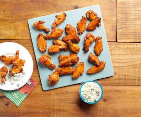 Bourbon-Glazed Chicken Wings