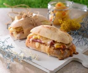 夏威夷人巧巴達三明治