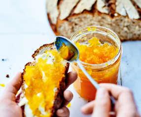 Confiture de potiron à l'orange