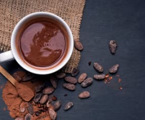 Chocolat chaud onctueux