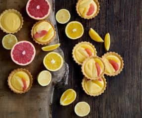 Tarteletes de citrinos