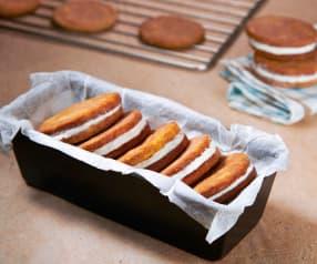 Gelato biscotto al tiramisù (vegan)