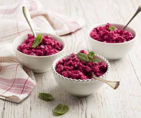 Rote Rüben Salat mit Schafs-Joghurt